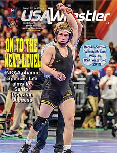 USA Wrestler Cover, Feb, 2019