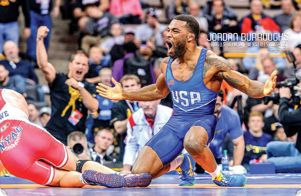 USA Wrestler Spread, June, 2016