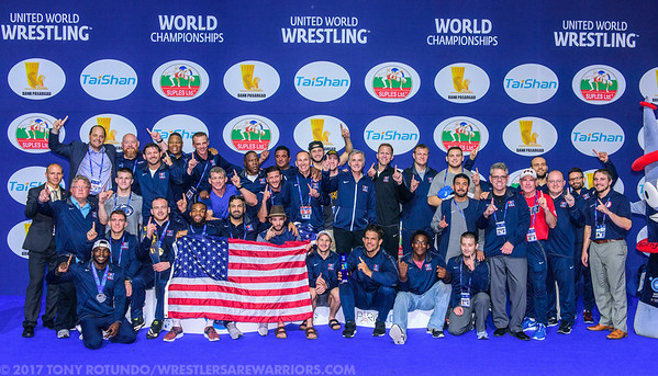 2017 OPEN: SENIOR WORLD CHAMPIONSHIPS: DAY 6: FINALS