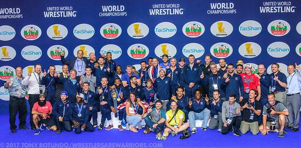 2017 OPEN: SENIOR WORLD CHAMPIONSHIPS: DAY 6: FINALS