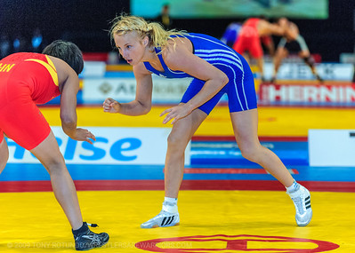 2009 OP WRESTLING: WORLD CHAMPIONSHIPS: DAY 3: WF PRELIMS