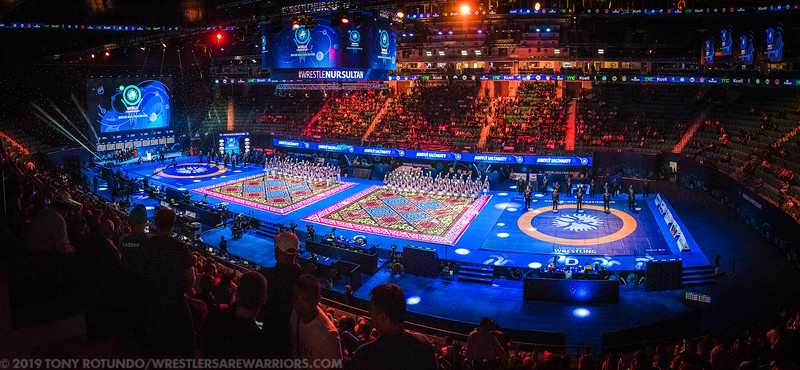 2019 OP: WORLDS: VENUE