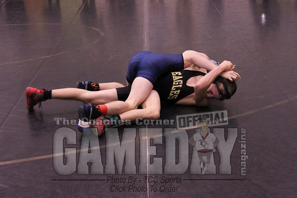 Dulles District Wrestling Championship 2011/ by Katelyn Sellars