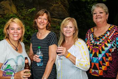 Tiffany Thompson, Barbara Fawcett, Brenda Barnes, Karol Knudtson