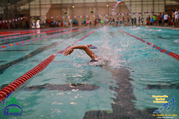2016 HSV Sprint Tri Swim