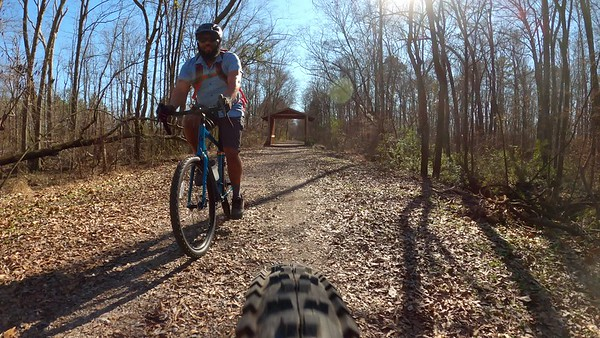 2020 Elkmont Rails to Trails Gravel Ride with Andrew