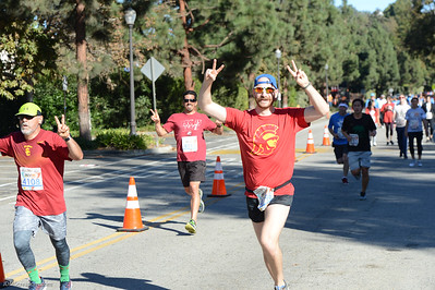 We Run The City 5K/10K to benefit Special Olympics Southern California - Wilson Plaza, UCLA, Los Angeles, CA - Nov. 19, 2017