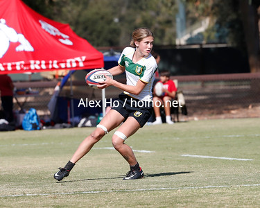 2019 Pacific Western Sevens Championship Pool Play: California over USF 17–5