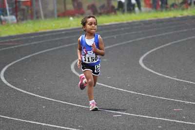 Vivian in the 200 meter dash