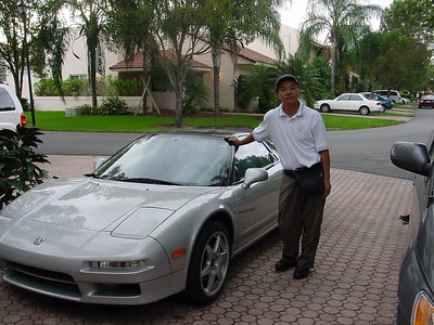 Joe w/ his NSX