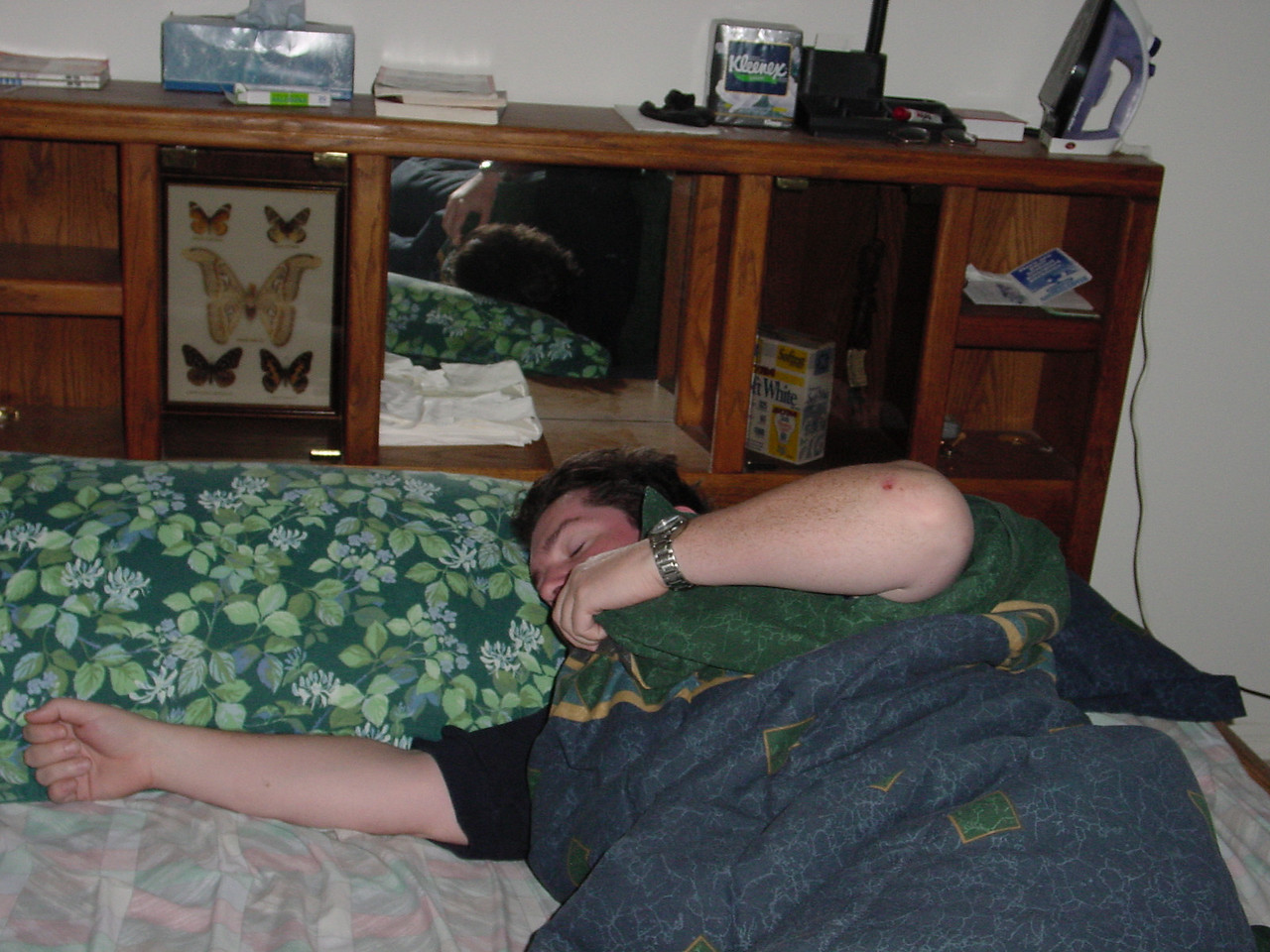 RB - sleeping it off