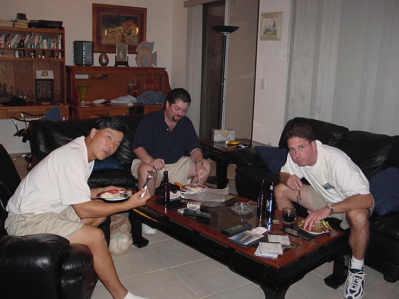 Man we got the munchies....just like old times huh, Joe?
