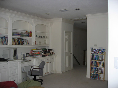 Kids game room/study