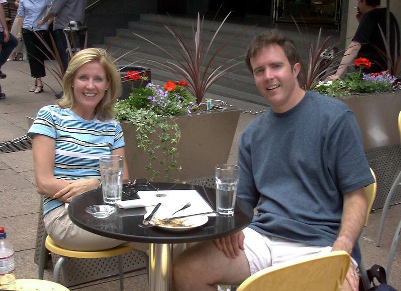 David Duckworth & sister Dr. Beth Flecker (WSHS '84)