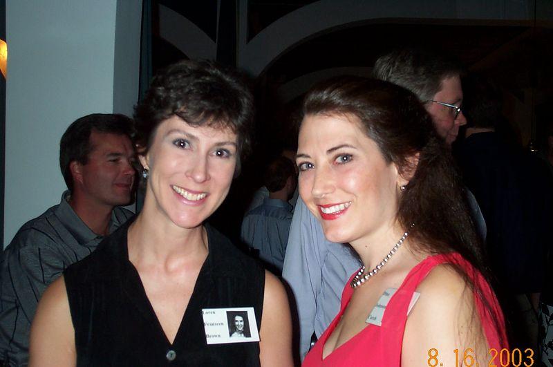 Loren Franseen and Dina Johnson