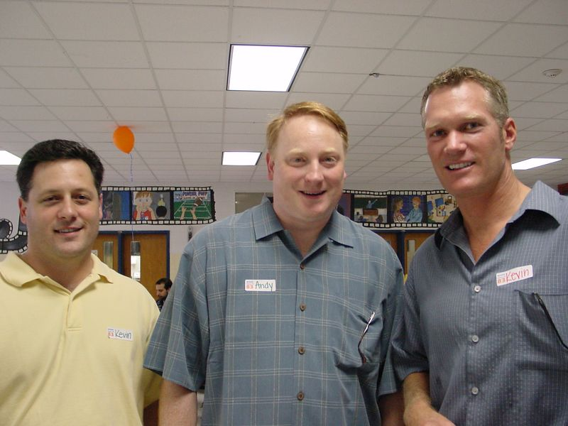 Kevin Christopher, Andy Peach, and Kevin Gallaghan