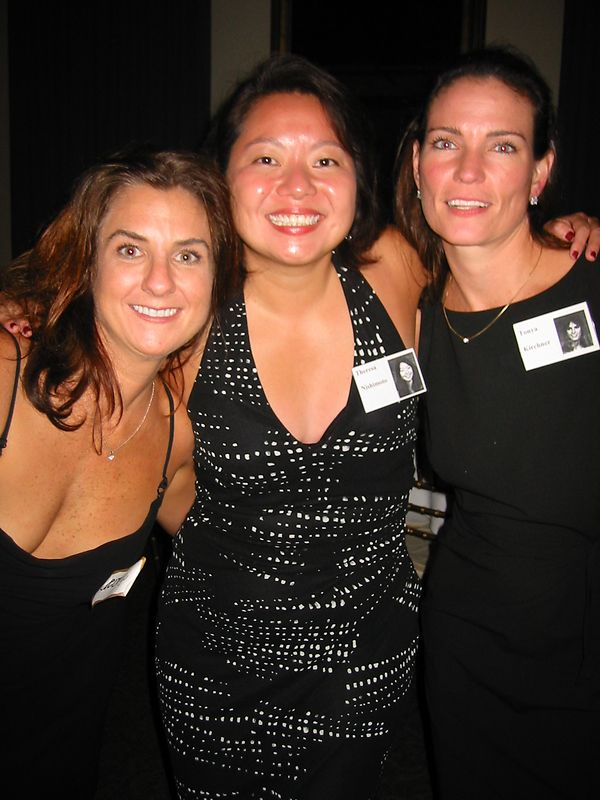 Christine Debuzna, Theresa Nishimoto, & Tonya  Kirchner