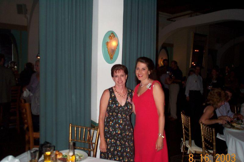 Kathy Lacy and Dina Johnson