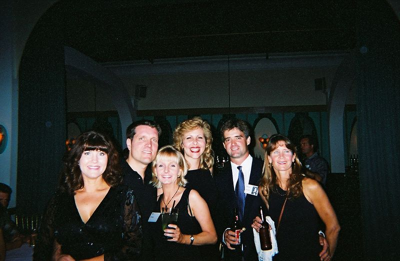Terry Masters(spouse), Larry Masters, Paige McManus, Mary Markham, Mike Cornish, & Christina (last name?) friend