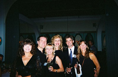 Terry Masters(spouse), Larry Masters, Paige McManus, Mary Markham, Mike Cornish, & Christina (last name?) friend