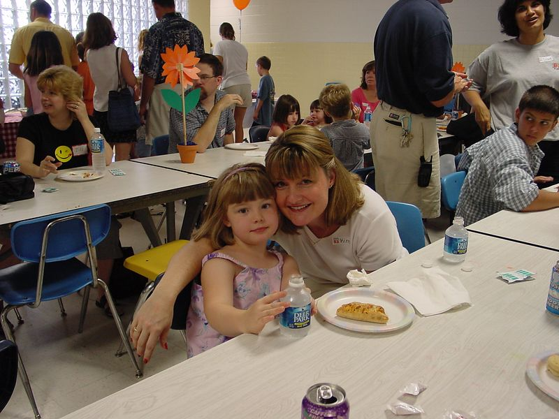 Kim Cotter (Boarts) with daughter