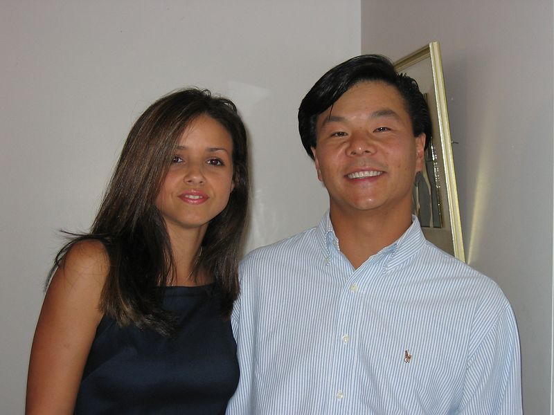 Joe Pan & wife Jessie - ready for the reunion