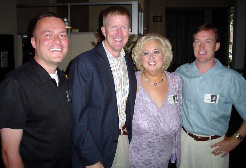 Oracle staff--Jay Yianilos, Mike Orr, Jane Brennan (Herrin), Mike Kavanagh