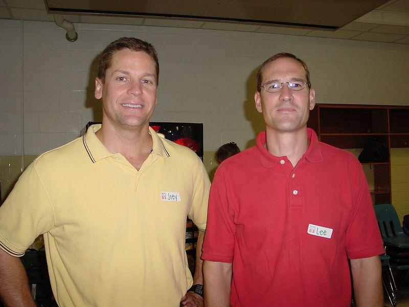 Joey Booher & Lee Blakely