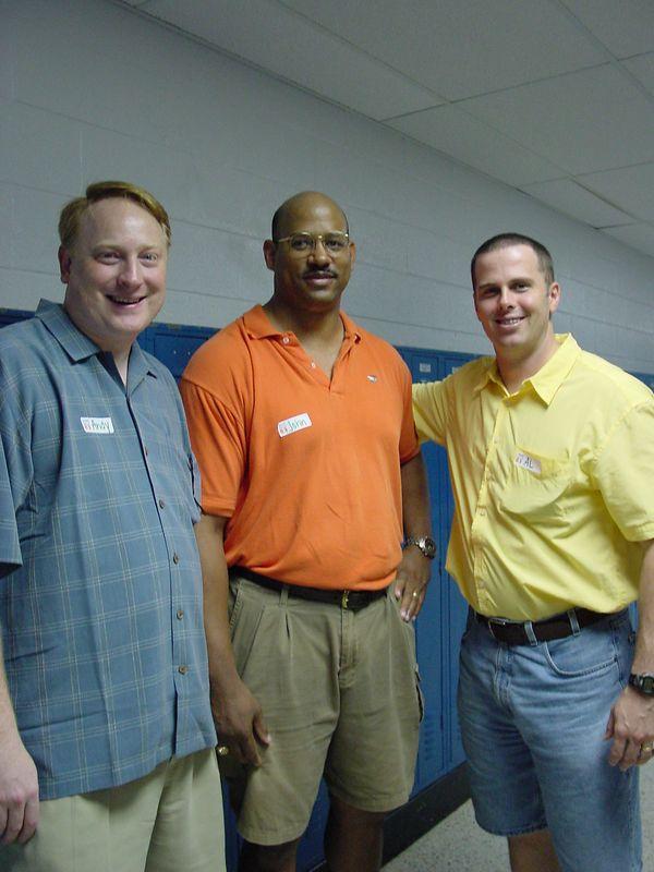 Andy Peach, John Fuller, & Alan Bosma