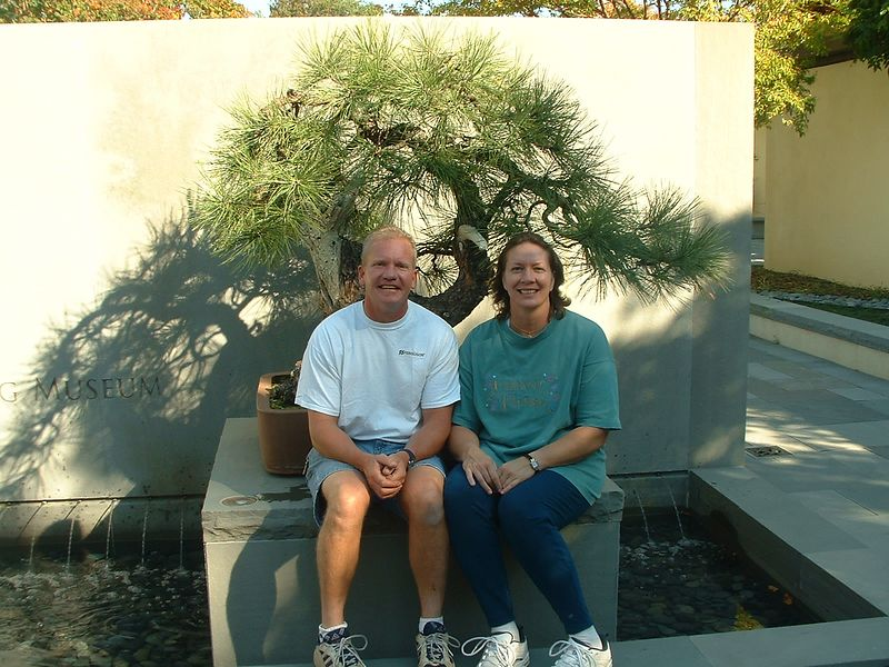 Jon Runger and Cindy Pavell ('79)