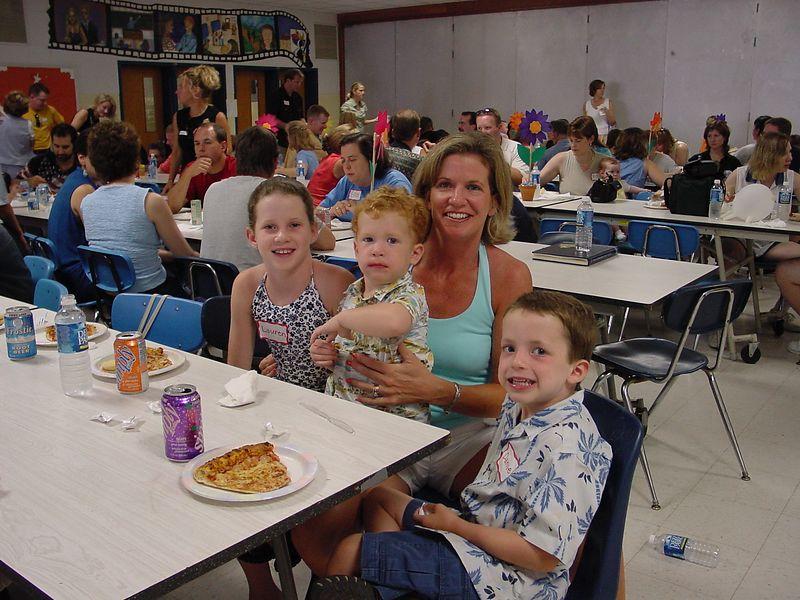 Margaret Keenan (Albrittain) with 3 of her 4 children (Patrick, Lauren & Daniel)