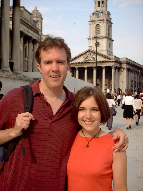 David Duckworth with wife, Alisha