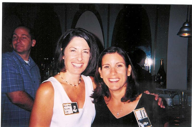 Anne Marie Bisone (Lax) and Theresa Fleming