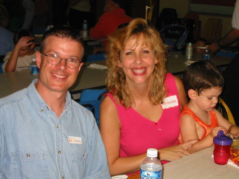 Jimmy Holbrook, Mary Markham & her son Nicholas