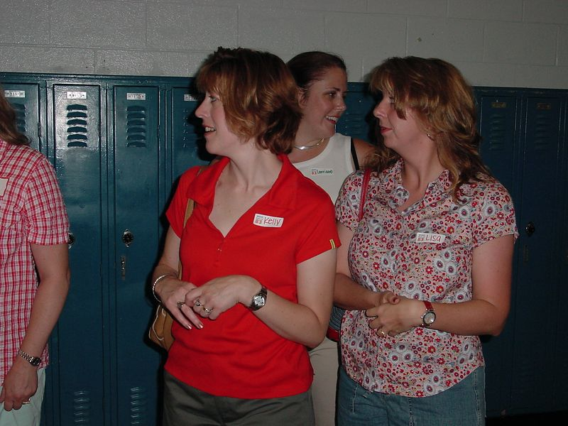 Kelly Gossard, Lisa Reed & Loraine Berry