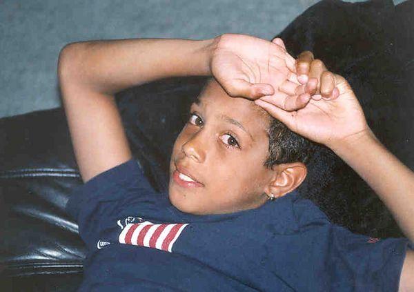Kenny Chandler's son, Jannick (10)