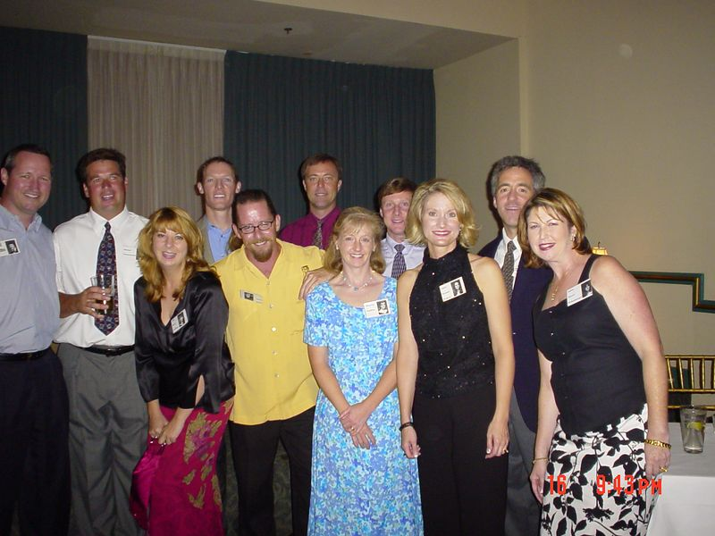 Todd Krebs, Mike Nonnemacker, Lisa Reed, Jeff Harvell, David Smith, Rodney Davis, Maureen Madden, Scott Hevener, Laura Forester, Scooter Thomas, Jackie Brown