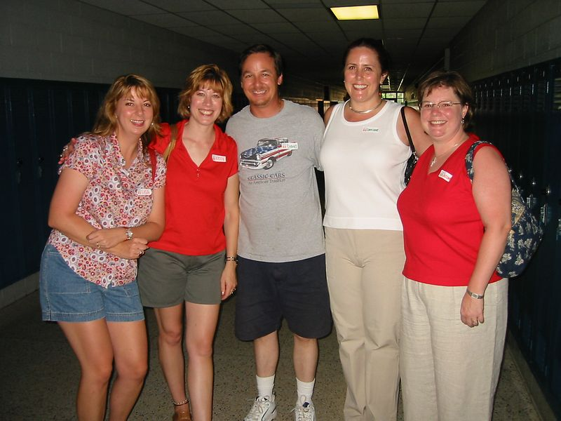 Lisa Reed, Kelly Gossard, David Kranz, Lorraine Berry, and Suzanne Lawrence