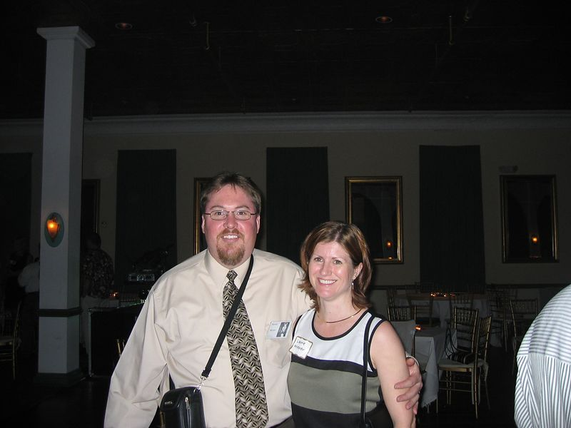 Stephen Mosher and wife Laurie