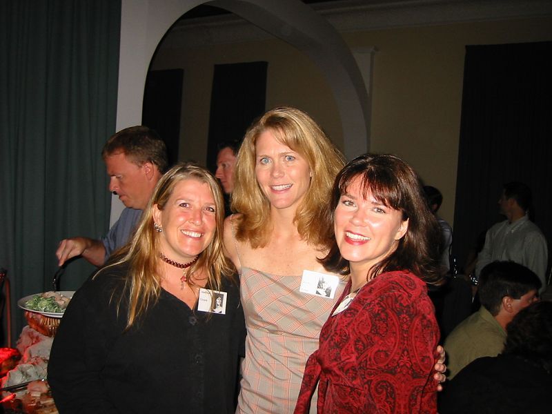 Andrea Green, Karen Jordan, and Karey Honberger