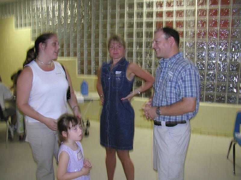 Lorraine Berry (Leithiser), Karen Prentiss & Chris Leithiser, and Lorainne & Chris' daughter