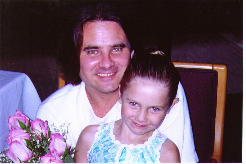 "Jerry ""Jay"" Heard w/ daughter Estelle Rae (6)"