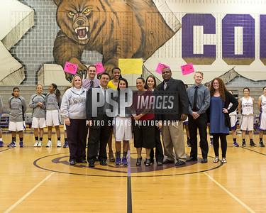 Girls Basketball Sr. Night Photos (C) PSP IMAGES 2014