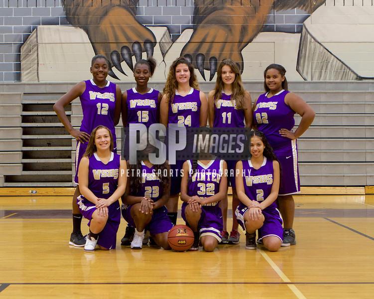 Girls Basketball JV TEAM