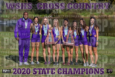 CROSS COUNTRY STATE CHAMP 24X36 WITH YEAR