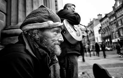 WSO Busk4thehomeless Liverpool City Centre