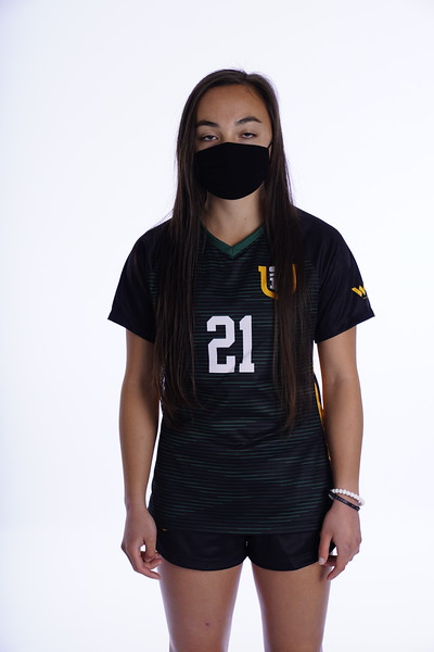 2/11/21: USF WSOC Headshots and Marketing at War Memorial Gym in San Francisco, CA.  Image by Chris M. Leung for USF Dons Athletics