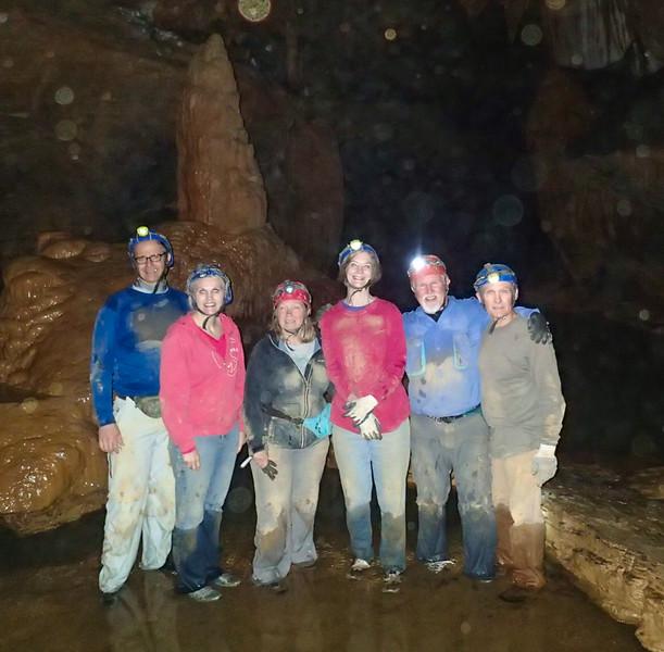 WSSOC Cave Trip, Worley's Cave, Elizabethton, TN, April 18, 2015