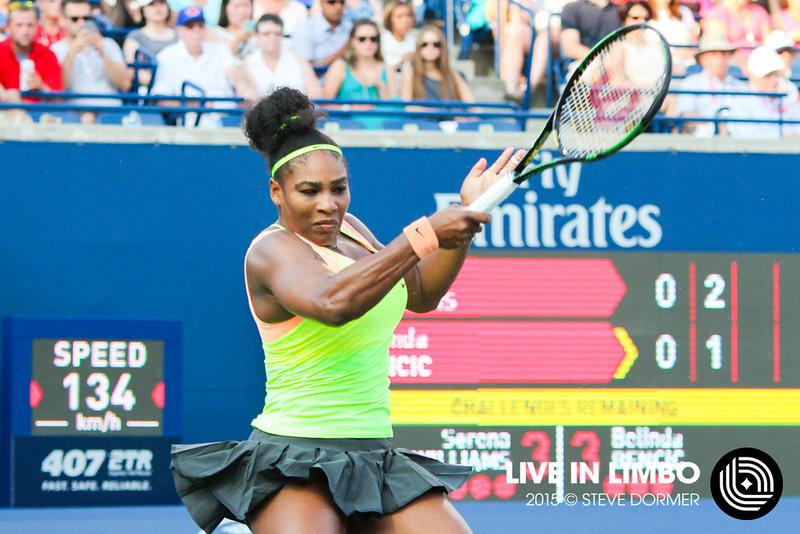 Serena Williams vs Belinda Bencic