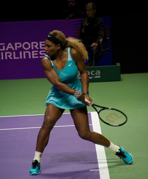 ...and Serena